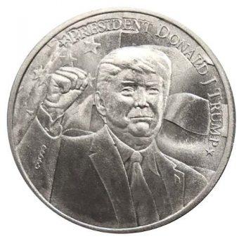 1 oz Silver Trump 2020