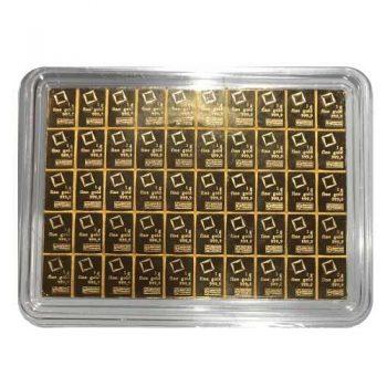 Valcambi 50g Gold CombiBar