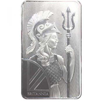 100 oz Britannia .999 Silver Bar