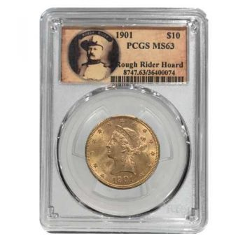 1901 $10 Gold Liberty PCGS MS63