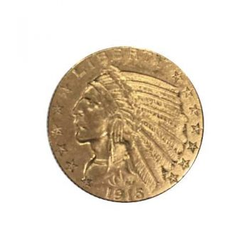 1915 $5 Gold Indian