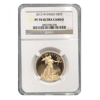2013-W 1/2 oz Gold Eagle NGC PF70 UCAM