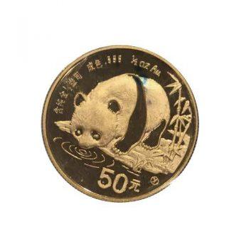 1987 Half-Ounce Gold Panda