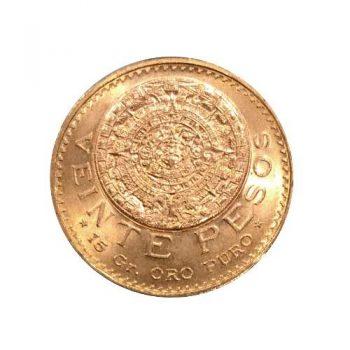 1959 Gold 20 PESO