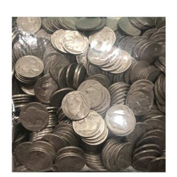 500 Dateless Buffalo Nickels