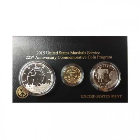 2015 Marshals Service Gold and Silver set
