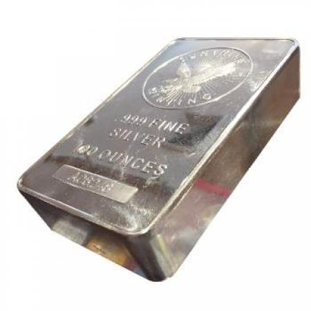 100 oz Sunshine Silver Bar
