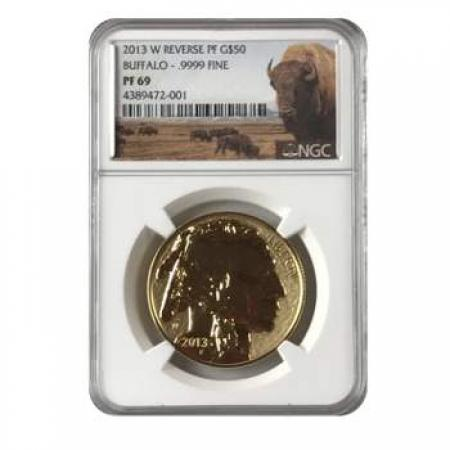 2013-W Reverse Proof Gold Buffalo