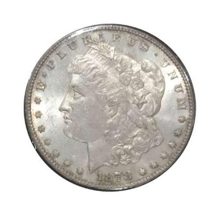 1878-S Morgan Silver Dollar AU+