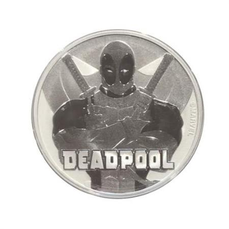 2018 Deadpool 1 oz Silver Marvel Series Coin GEM BU